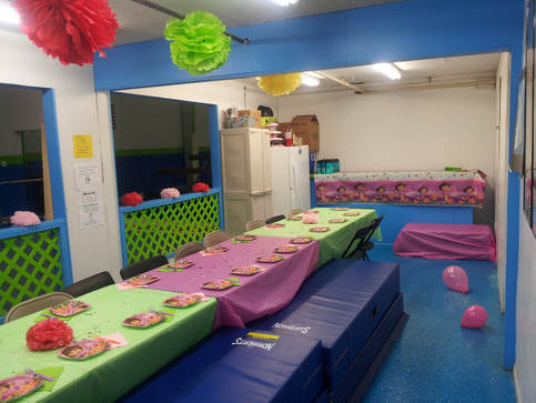 Gymnastics Party I Childs Party Place Hanford CA